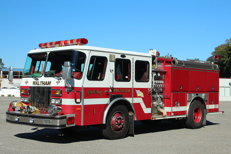 Waltham Former Engine 1