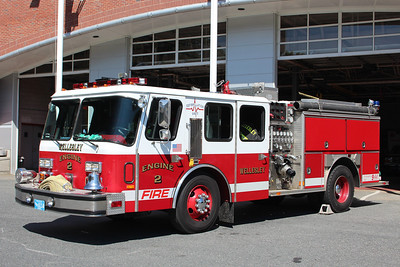 Wellesley Mass Engine 2 - 1989 E-One Hurricane 1500/500   ** Now Engine 5 (Spare), Former Needham E2 **