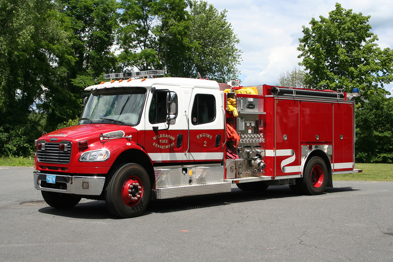 Wilbraham Mass Engine 2 - 2005 Freightliner/E-One 1250/780
