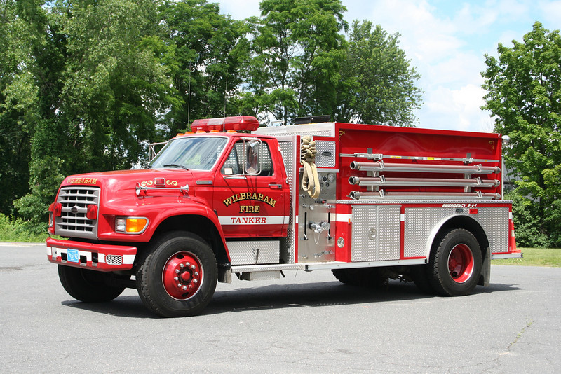 Wilbraham Mass Tanker 1 - 1995 Ford/E-One 300/1500