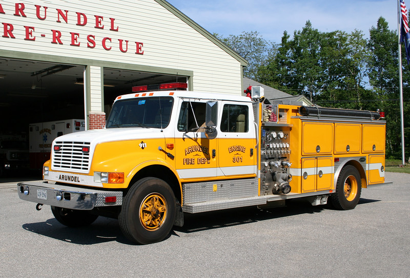 Arundel Maine Engine 301 - 1991 International / E-One 1250/1000