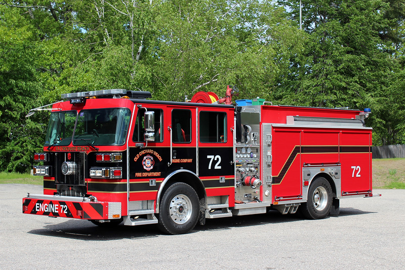 Old Orchard Beach Engine 72