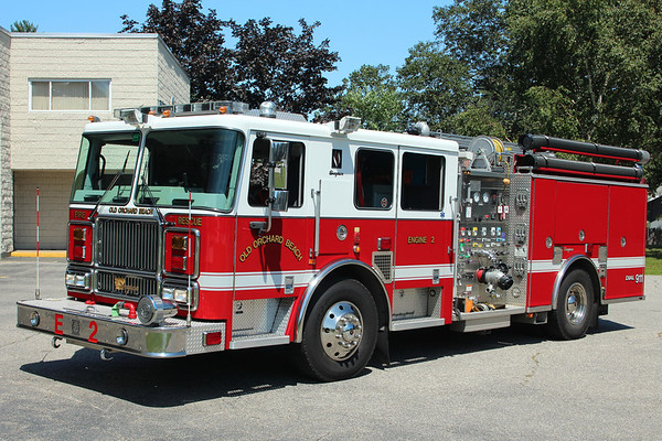 Old Orchard Beach Maine Engine 2 - 2007 Seagrave Marauder II  1250/750. (Demo Purchased in 2009)