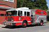 "Hoosick New York - Hoosick Falls FD Engine 172 - 2008 Spartan / Rosenbauer 1250/1000 with 1000 Feet of 5"" Supply Line."