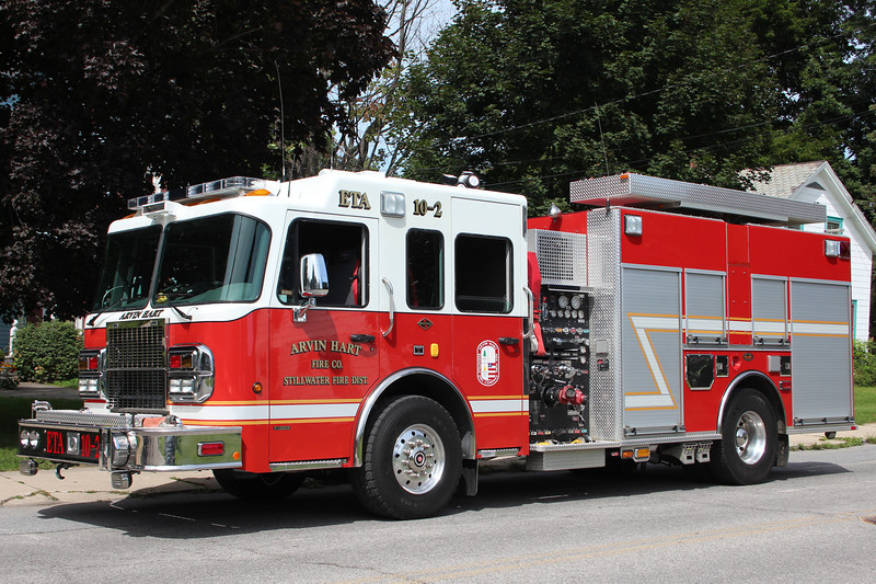 Stillwater New York - Arvin Hart Fire Co ETA 10-2 - 2007 Spartan Diamond / KME 1250/1250