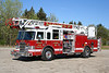 Plainfield Conn Ladder 194 - Moosup FD - 2005 Pierce Dash 1750/460/75' rearmount aerial.