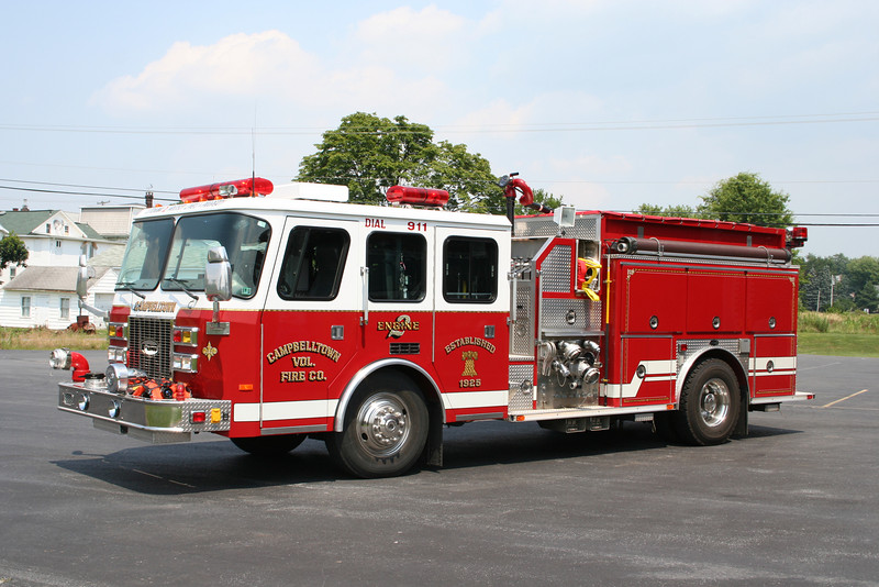 Campbelltown PA Engine 2 - 1995 E-One Hurricane 1500/1000/50F