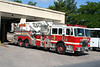 Harrisburg PA Tower Ladder 2 - 2002 KME 95' Tower
