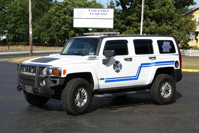 Bucks County PA - Bensalem Twp - Union Fire Co Assistant 37 - 2006 Hummer H3.