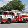 Dauphin County PA - Susquehanna Twp - Progress Fire Co Tower Ladder 32<br /> 2001 Seagrave 95' Aerial Scope.