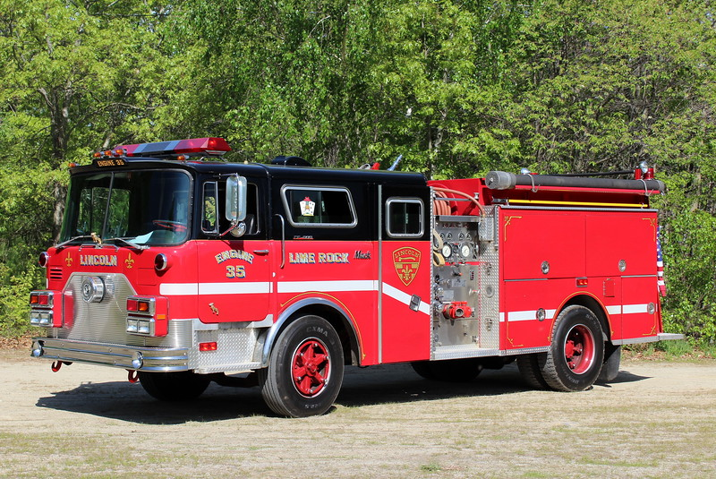 Lime Rock former Engine 35