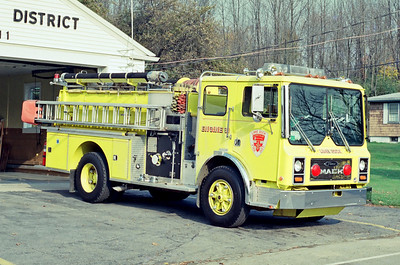 Lincoln Former Engine 31 - Lime Rock FD