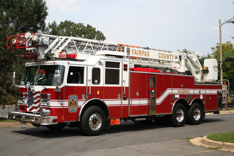 Fairfax County, VA Reserve Truck - 2003 Pierce Dash 105' RM.<br /> Former Truck 425 Recently replaced.