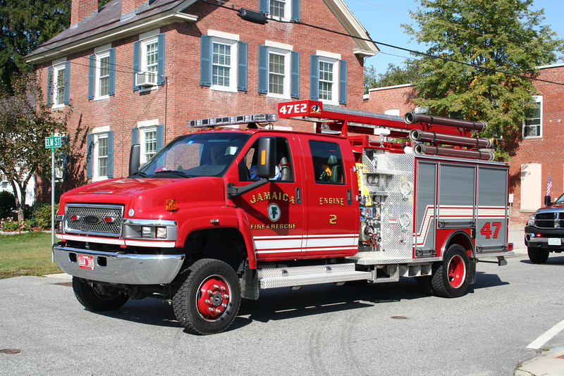 Jamaica Vermont Engine 2 - 2009 GMC 5500 4X4/Pierce 750/300/CAFS