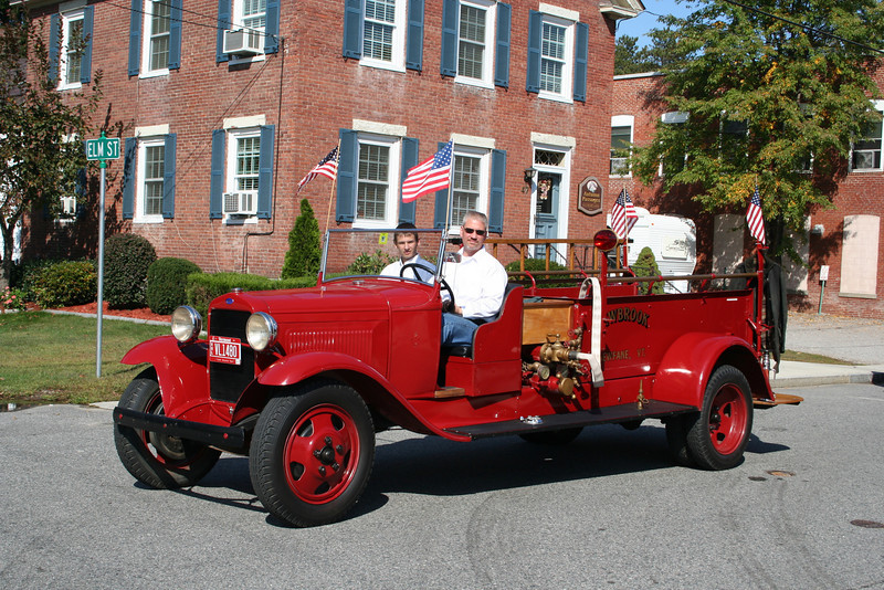 Newfane Vermont - Newbrook FD Antique Ford