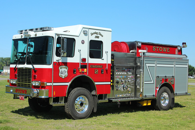 Stowe Vermont Engine 2 - 2013 HME Ahrens Fox ??/??