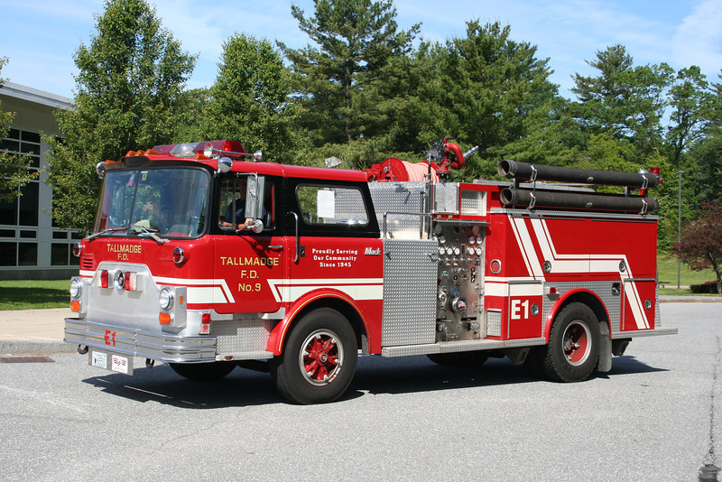 Tallmadge, Ohio Former Engine 9 - Mack-CF<br /> Now Privately Owned.