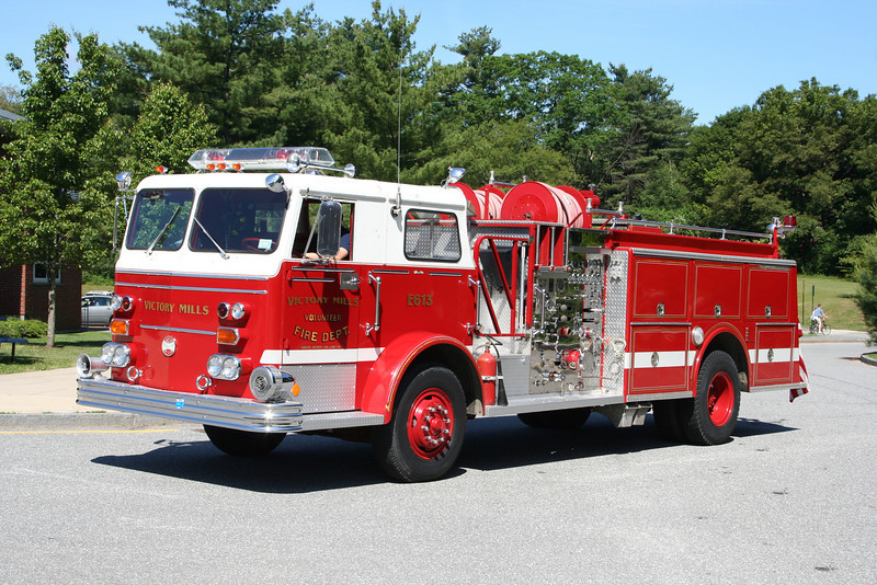 Victory Mills New York Engine 613 - 1970s Era Maxim-F by now privately owned.