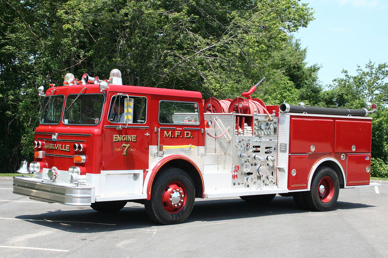 Mabelville Engine 7 - Maxim F Pumper.<br /> If anyone has details on this truck please email me.