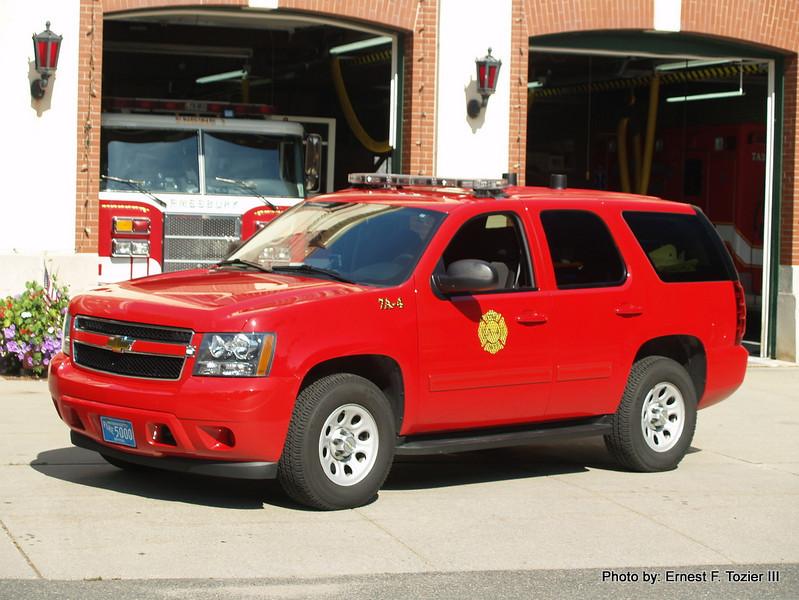 Medic 4 - 2010 Chevy Tahoe