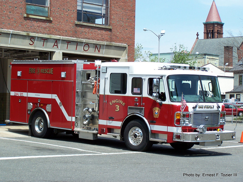 Engine 3 - 2005 American LaFrance Eagle 1500/750 (This was the 2005 ALF's original assignment)
