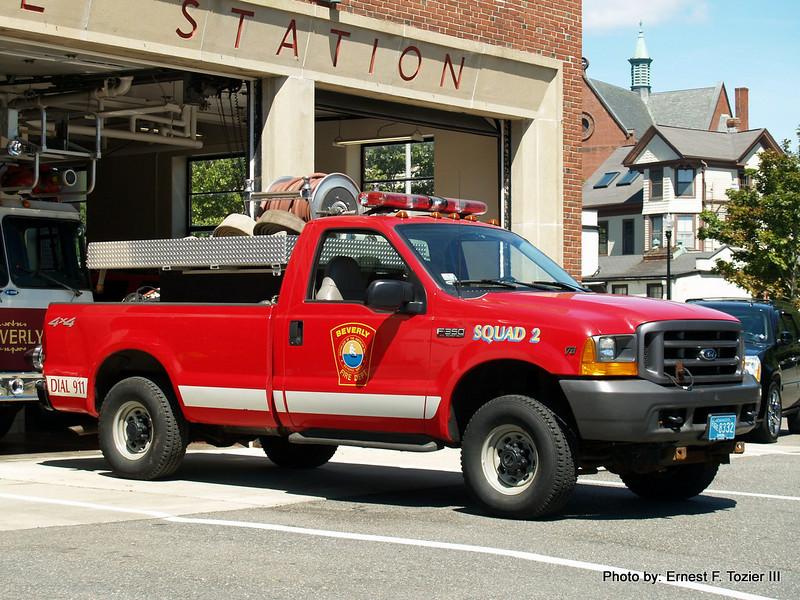 Squad 2 - 2000 Ford F-350/Greenwood 250/350