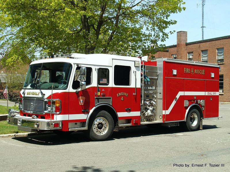 Engine 4 - 2005 American LaFrance Eagle 1500/750 (Former Engine 5 and Engine 3)