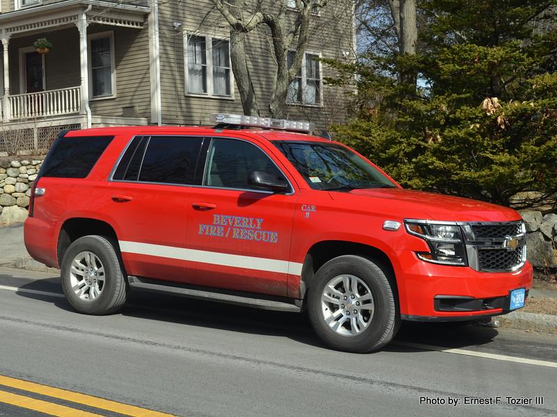 Car 2 (Deputy Chief) - 2016 Chevrolet Tahoe