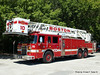 Tower Ladder 10 - 2001 Pierce 85' Rearmount Tower
