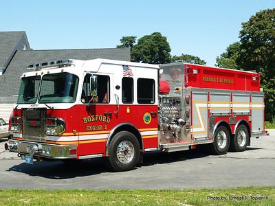 Boxford, MA Fire Apparatus