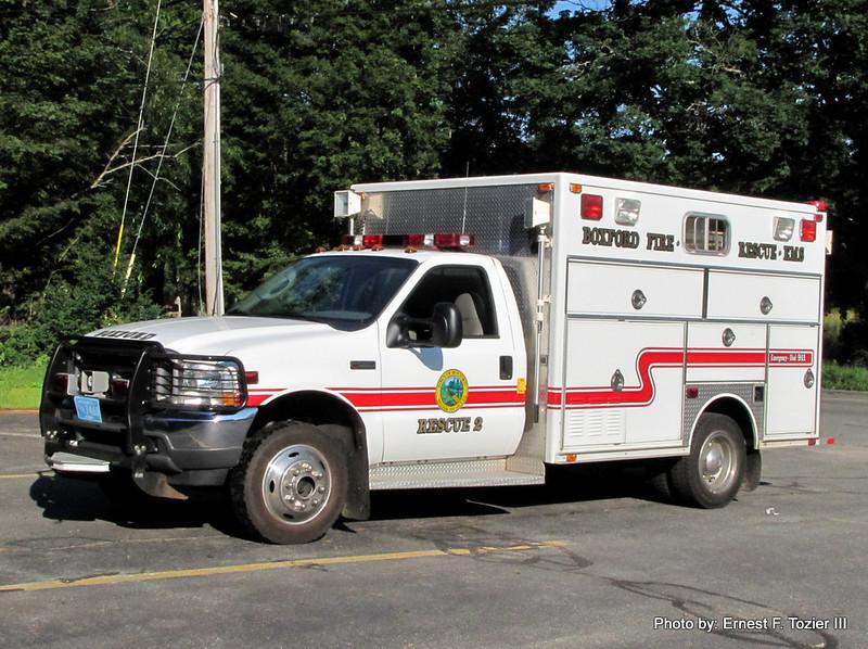 Rescue 2 - 2003 Ford F-550 4x4/1987 R-1 Rescue Box