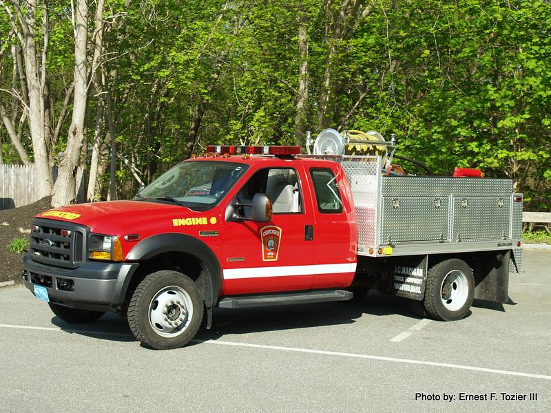 Engine 6 - 2005 Ford F-550 125/300 Brush