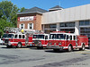 Engines 1, 2 and 4 @ Headquarters