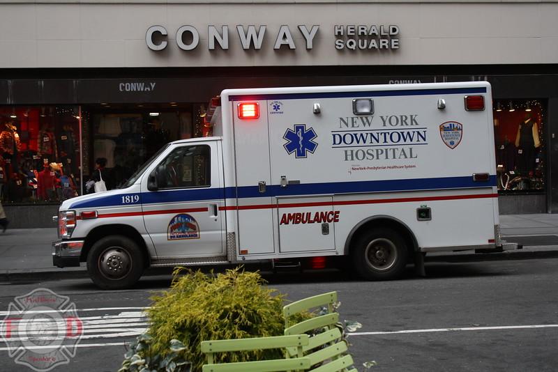 New York Downtown Hospital EMS