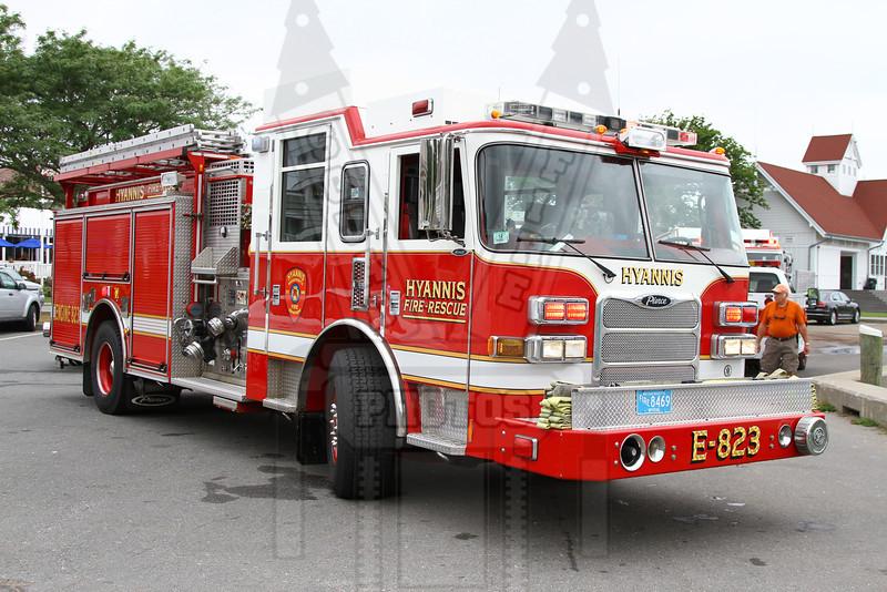 Hyannis, Ma.  Engine 823