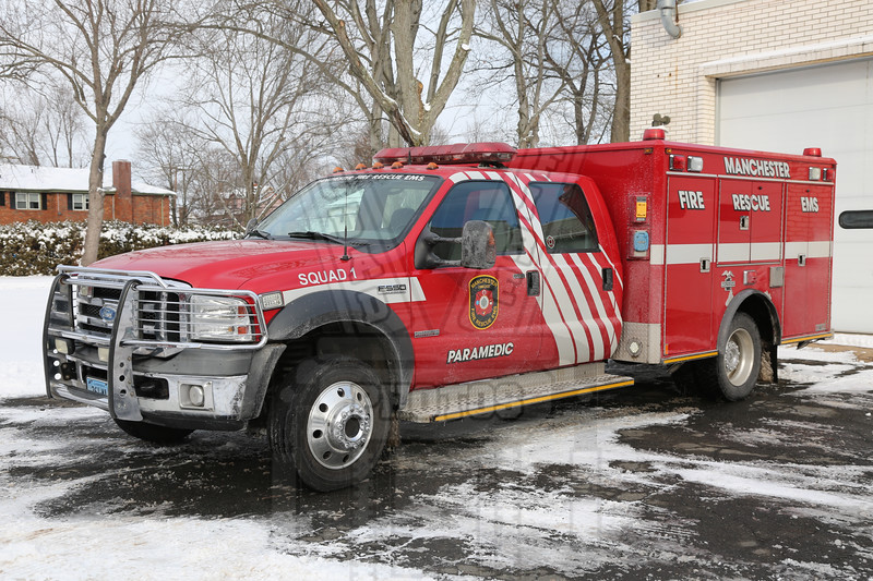 Manchester, CT Fire Rescue EMS Squad 1