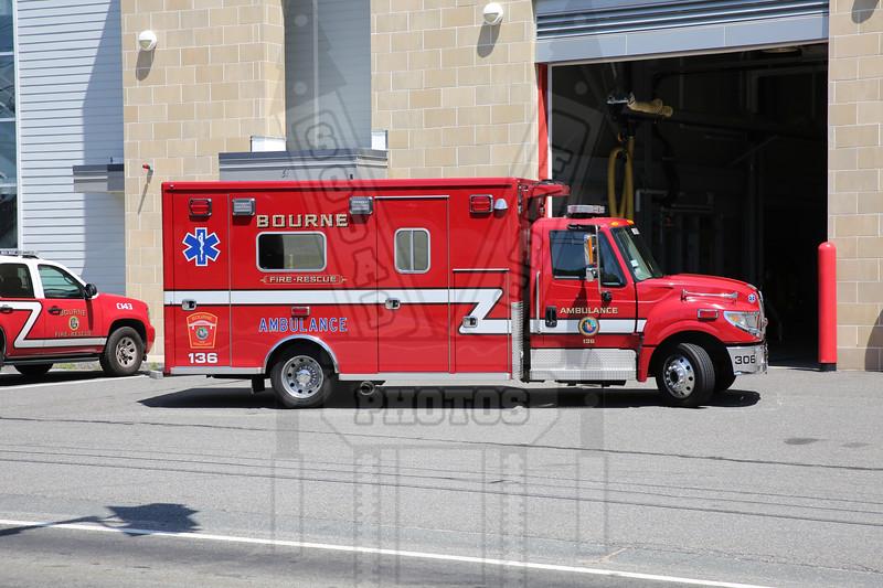 Bourne, Ma. Ambulance 136