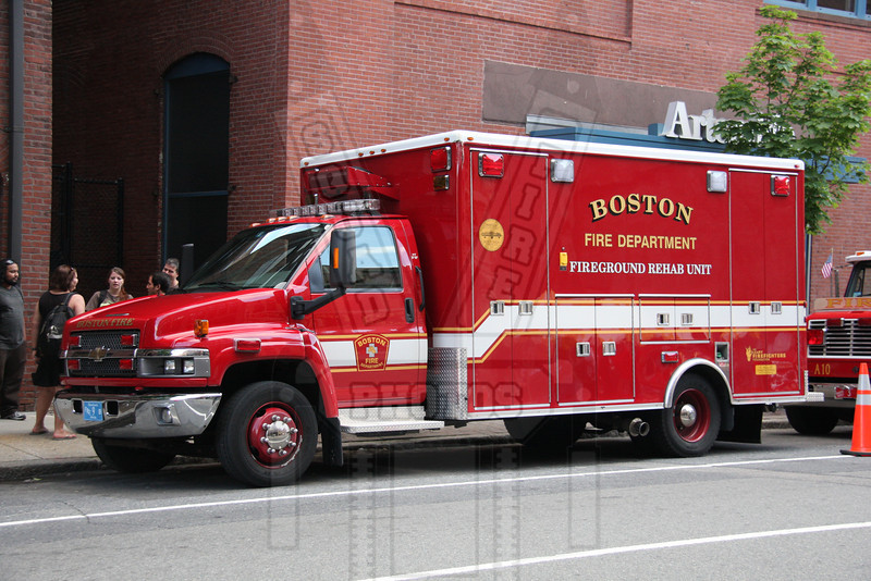 Boston, Ma. W-25 (Rehab Unit)