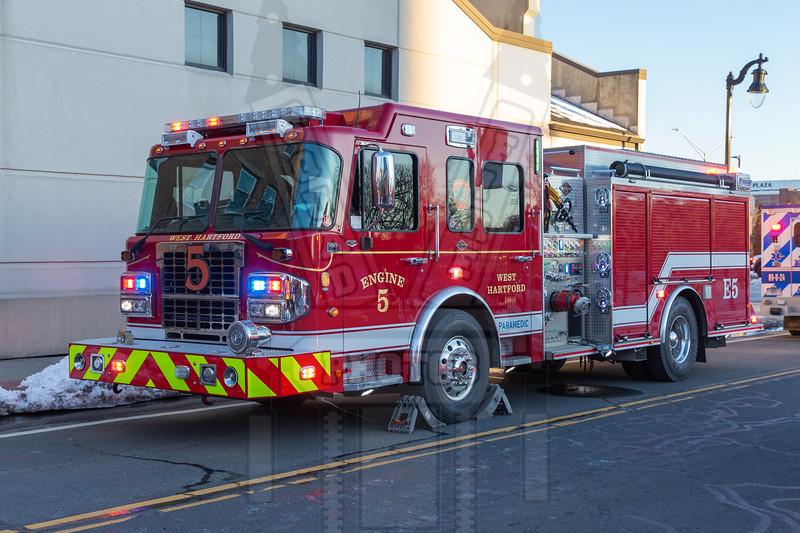 West Hartford, Ct Engine 5