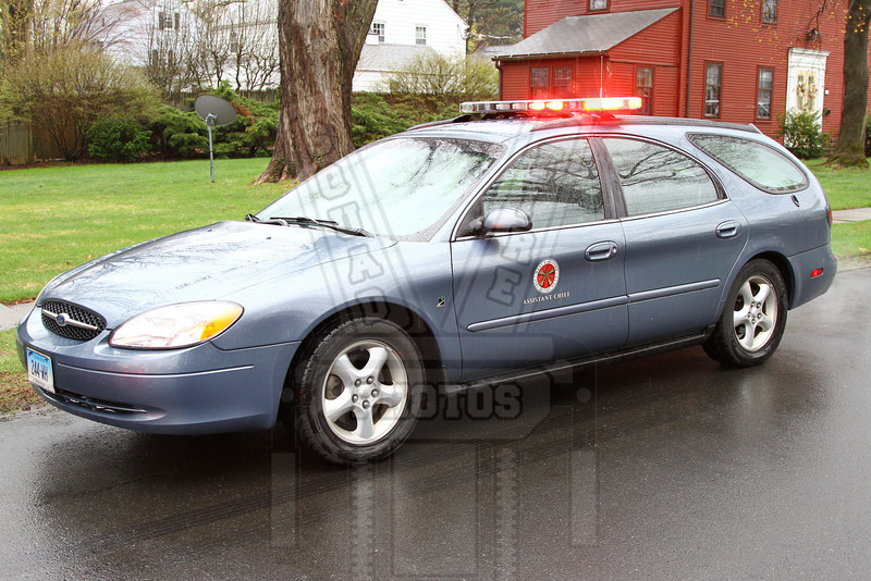 West Hartford, Ct Assistant Chief's car