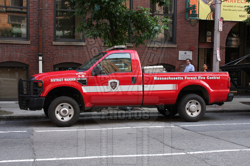 District warden P/U from Massachusetts Forest Fire Control