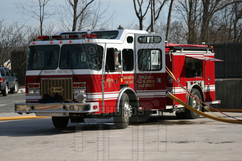 Manchester, Ct (8th District FD) Engine 2