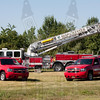 8th District Fire Dept. (Manchester, Ct) Tower 1, Unit 8 and Squad 9