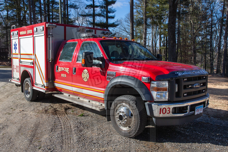 Windham Center (Windham, Ct) Rescue 103