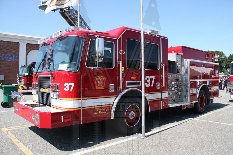 Boston, Ma. Engine 37. Not in service at time of picture. 6/24/10