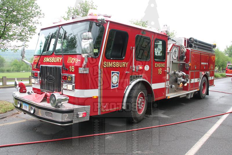 Simsbury, Ct Engine 16