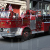 This Mack C model is owned by Smokin' Joes fire engine rentals.