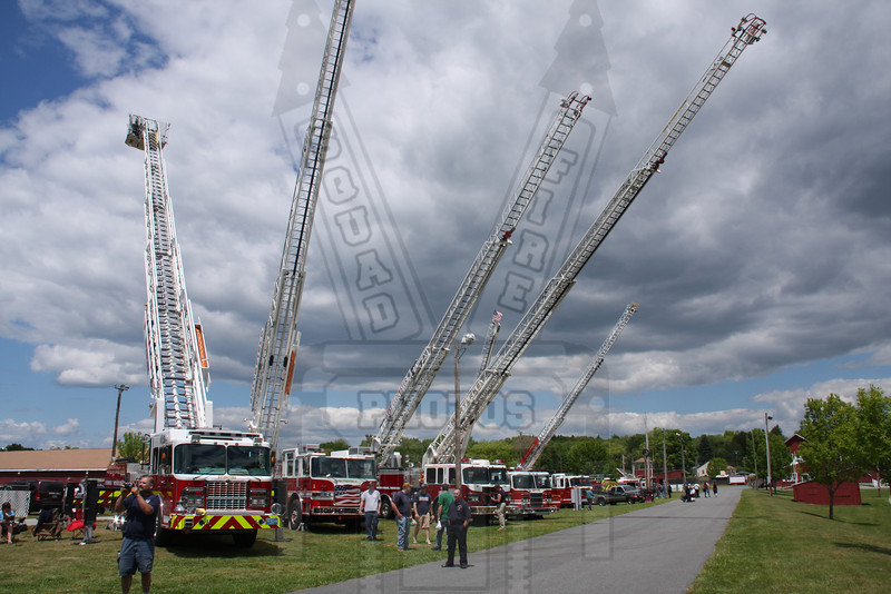 Tri State Fire muster in Brooklyn, Ct