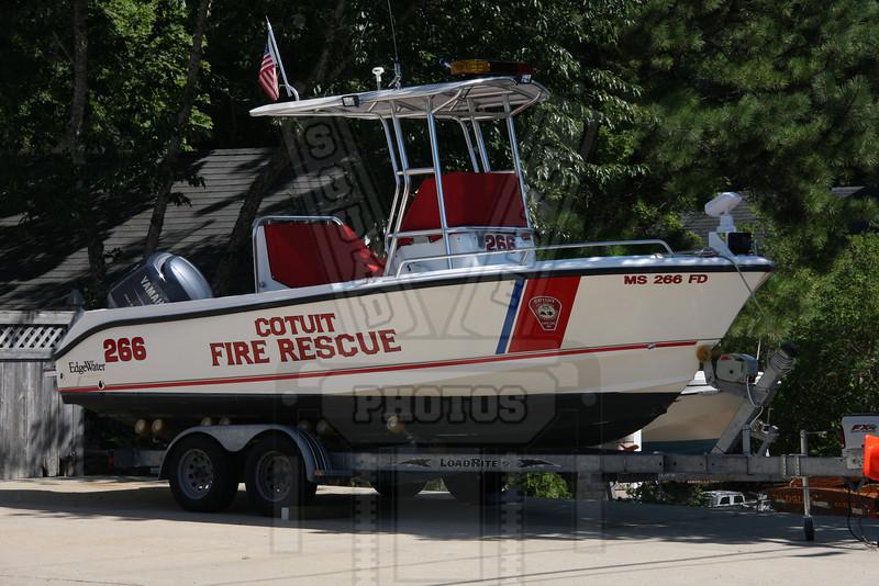 Cotuit, Ma. (Cape Cod) fire boat.