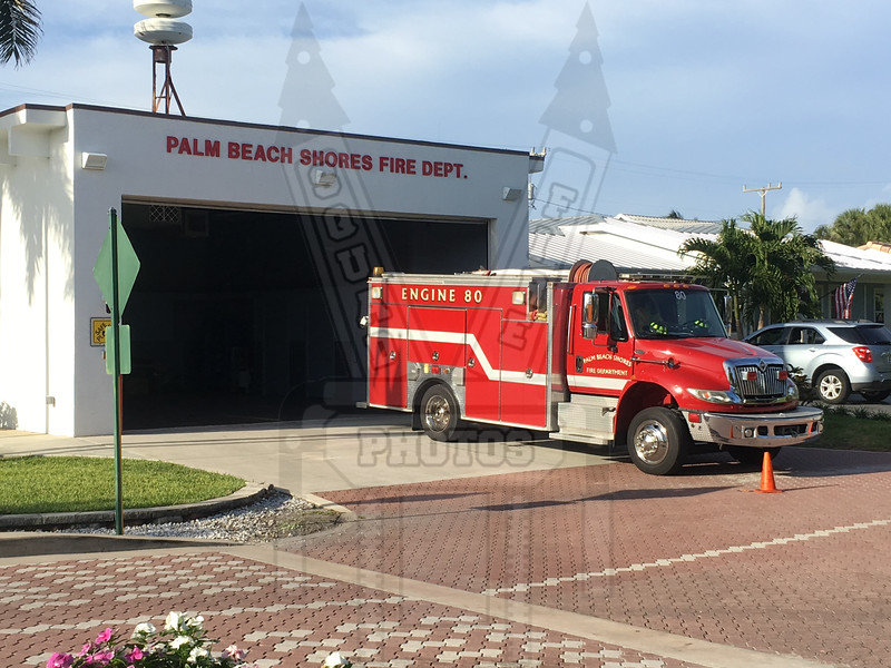 Palm Beach Shore, Fl Engine 80